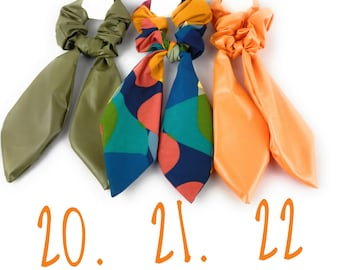 scarf and or darling elastic hair