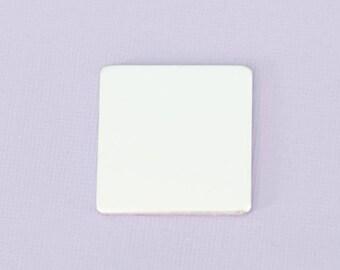 "1"" Square - Aluminum Stamping Blanks - Metal Stamping Blanks - 14g - #67"