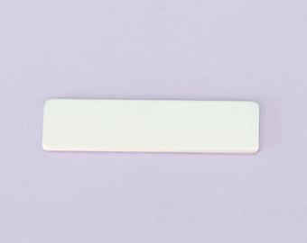 "2"" (50.8mm) Rectangle - Aluminum Stamping Blanks  - Metal Stamping Blanks - 14g - #63"