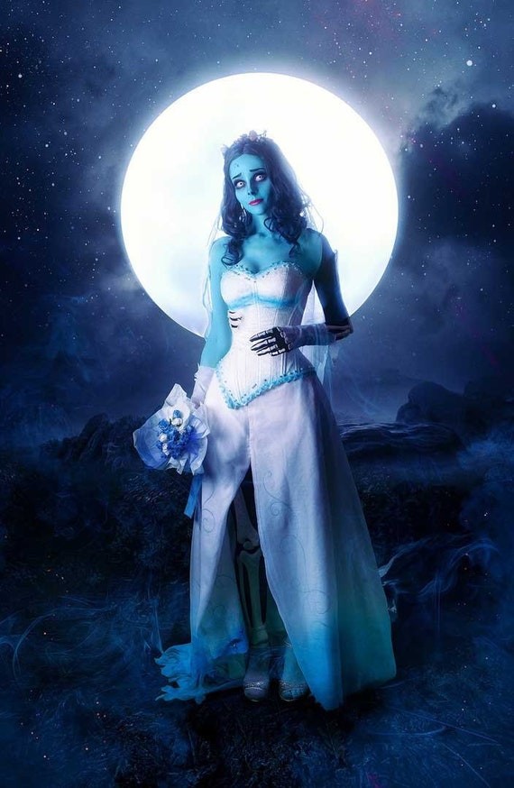 Tim Burtons Corpse Bride Cosplay Wall Painting Poster Room Design Wallpaper