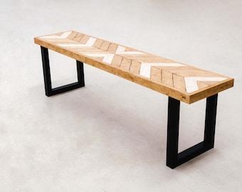 Banco de madera Off-Style