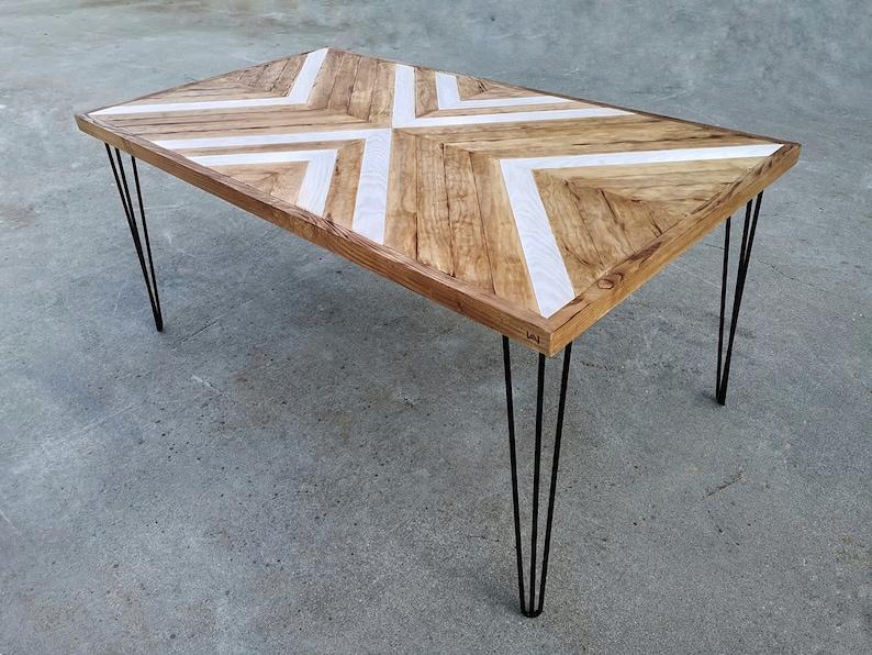 Mesa de comedor Mesa de madera original Mesa de madera | Etsy