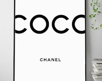 Chanel print   Etsy