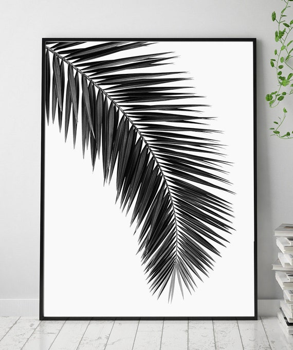 Printable Leaf Palm Printable Palm Leaf Palm Leaf Printable Etsy