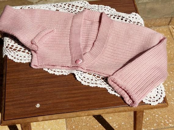 Rosa Bolero für Mädchen. Des Mädchens kurze Strickjacke. | Etsy