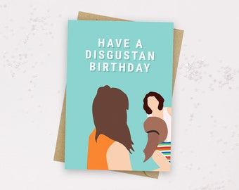 Have a DISGUSTAN Birthday Card - Well it was f***ing one of yas - Cher Lloyd - Meme Card - Funny UK Meme - Disgustang