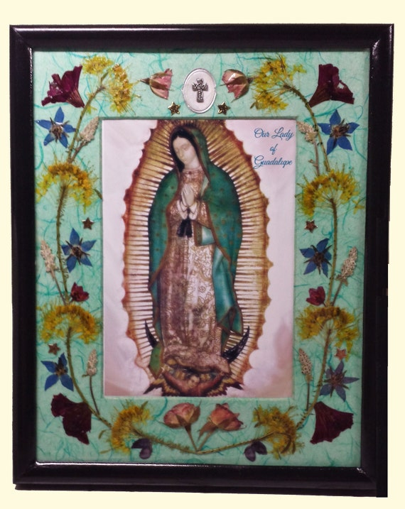 Our Lady Of Guadalupe Gift Or Keepsake Original Handmade Etsy