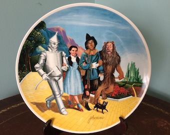 """1970's Knowles """"Grand Finale"""" Wizard of Oz Plate"""