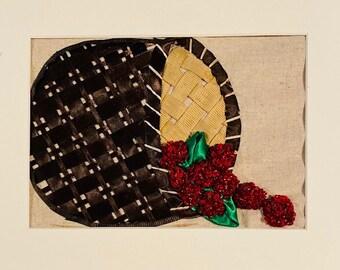 Reminisce Embroidery Series Pattern 1 - Raspberry Pickin' Basket