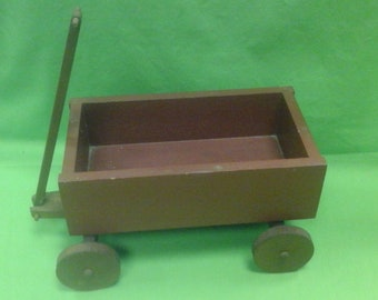 Antique Wood Wagon Etsy