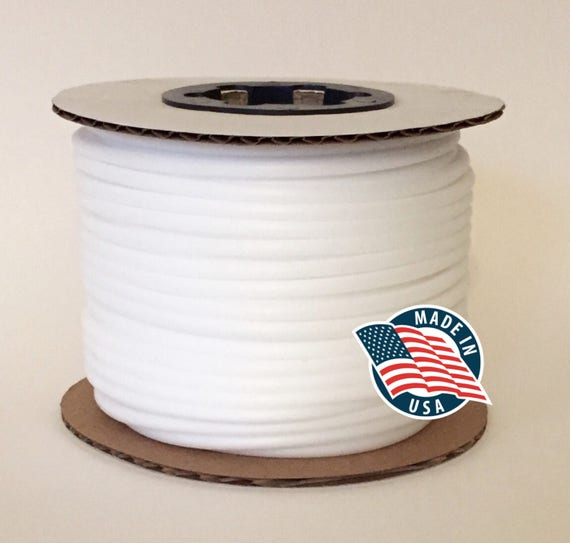 Braided MADE IN USA Synthetic Upholstery Welt Cord #1-6//32-3//16 Firm - 50 yards