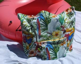 Maxi beach bag - family beach bag