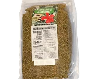Tropicals & Bird of Paradise Fertilizer Fuel - 14 Ounces - Slow Release 15-8-11 Blend 14 oz.