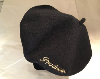 "Wool ""Producer"" beanie hat"