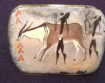 AMERICAN INDIAN ART brooch