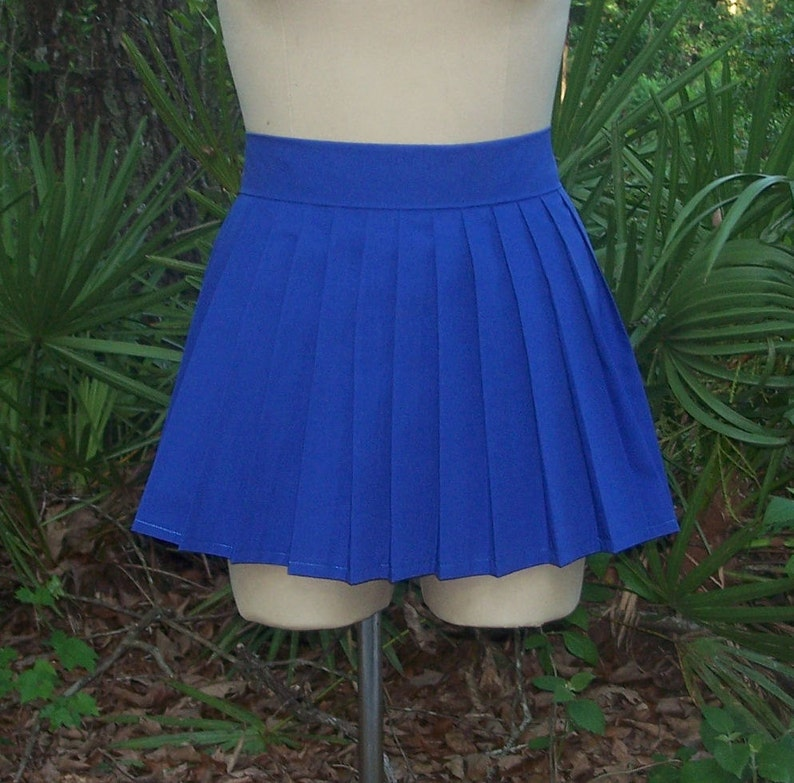 d3b84fba65 Pleat Skirt Anime Cosplay Custom Mini Skirt Knife Pleat | Etsy