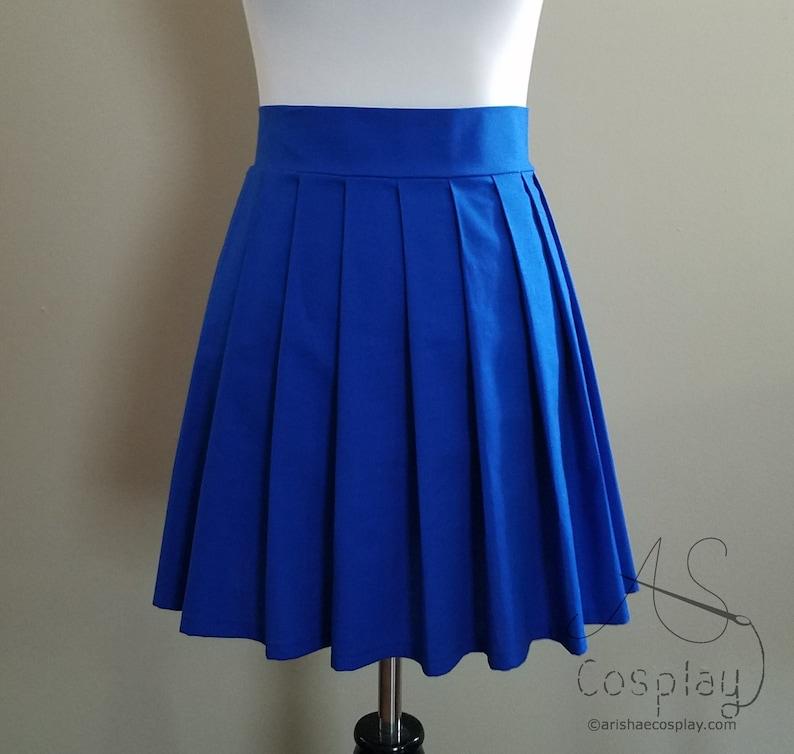 b5b2e58913d1 School Uniform Skirt Custom Knife Pleat Skirt Any Size   Etsy