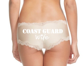 Coast Guard Wife Panties * FAST SHIPPING *