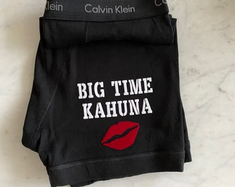 Calvin Klein Men's Black Boxer Brief   Big Time Kahuna   Anniversary Gift for Boyfriend or Husband   Cotton Anniversary Gift