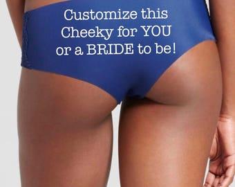 Personalized Panties