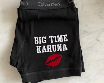 Calvin Klein Men's Black Boxer Brief | Big Time Kahuna | Anniversary Gift for Boyfriend or Husband | Cotton Anniversary Gift