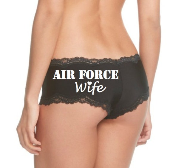 Air Force Wife Panties FAST SHIPPING Air Force Girlfriend / Air Force Bride / Military Wife / Military Bride / Military Underwear