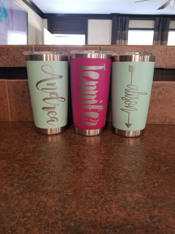 Personalized Yeti Tumbler Yeti Colored Tumbler Personalized Cup Insulated Cup Customized Tumbler Yeti Tumbler Customized Cups Tumbler