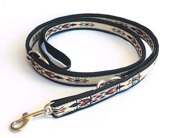 "Native Blue adjustable multi purpose dog leash: 18 mm/ 3/4"""