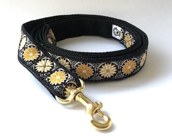 Dog leash Golden Lotus