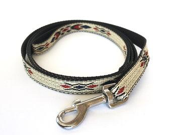 Native Blue Thin Dog Leash