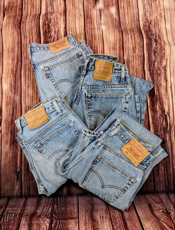Plus Sized Vintage Levi's high waisted denim jean