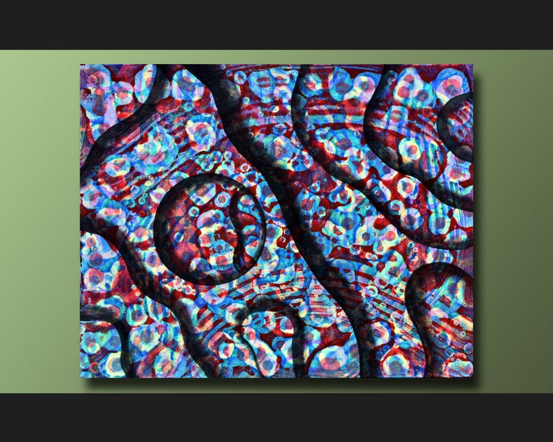 Abstract Art Abstract Painting Acrylic Painting Canvas Art image 1