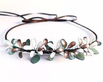 Flower wreath eucalyptus