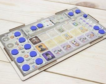 Great Western Trail board game player board