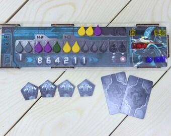 Adrenaline board game player board
