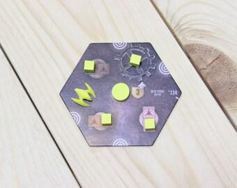 Eclipse board game orbital tokens kit (10 pcs)