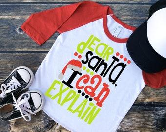 e3c05cc1187b8 Santasaurus Shirt Kids Christmas Shirt Kids Dinosaur Shirt | Etsy