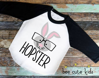 Easter Shirt - Boys Easter Shirt - Easter Outfit - Girls Easter Shirt - Kids Easter Shirt - Toddler Easter Shirt - Hopster Easter Shirt
