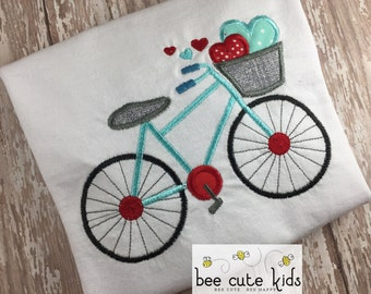 Boys Valentines Day - Boy Valentine Shirt - Boy Valentine Raglan - Kids Valentine Shirt - Valentine's Raglan - Embroidery - Applique