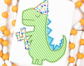 Dinosaur Birthday Shirt for Kids - Dinosaur Birthday Party Idea