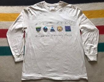 eeafc82443102b Vintage XL Billy Joel River of dreams tee shirt