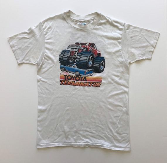 Vintage 1980s Toyota Terminator T Shirt USA Large