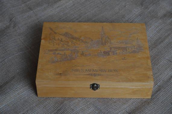keepsake box customized keepsake personalized keepsake etsy