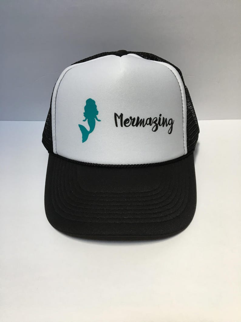 6ce90f9396cf7 Mermazing Trucker Hat Mermaid Trucker Hat Mermaid Mermazing