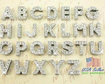 Rhinestone letters etsy spiritdancerdesigns Choice Image