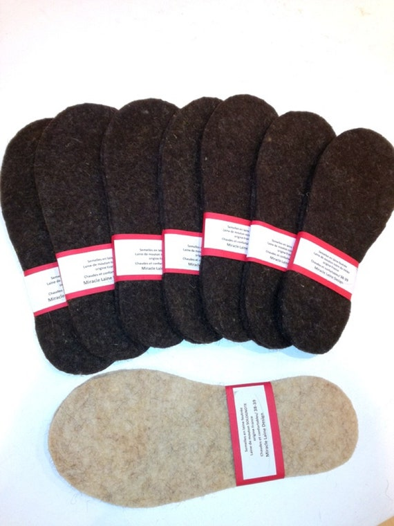 Feutree/BIZET/SOLOGNOTE/VELAY wool soles
