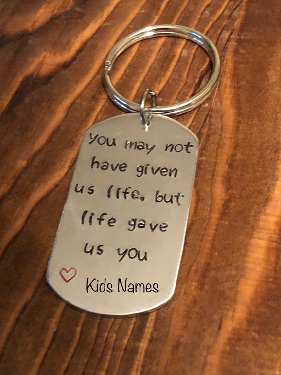 I Love You Dad Keychain Gift For Daddy Fathers Day Gift *BACA