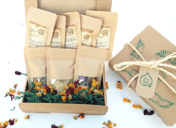 Organic tea sampler gift set