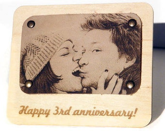 5th Anniversary Gift Wooden Anniversary Gifts Five Wood Wedding Gift 5 Year Anniversary Gift for Her Fifth Anniversary Gift For Him