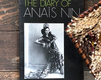Vintage Anais Nin A photographic Supplement to The Diary of Anais Nin, great book of photos & captions about Anais, her life and companions